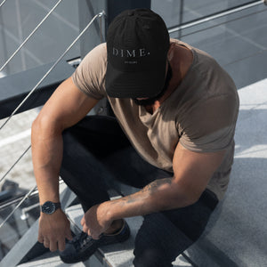 DIME CLASSIC DISTRESSED DAD HAT