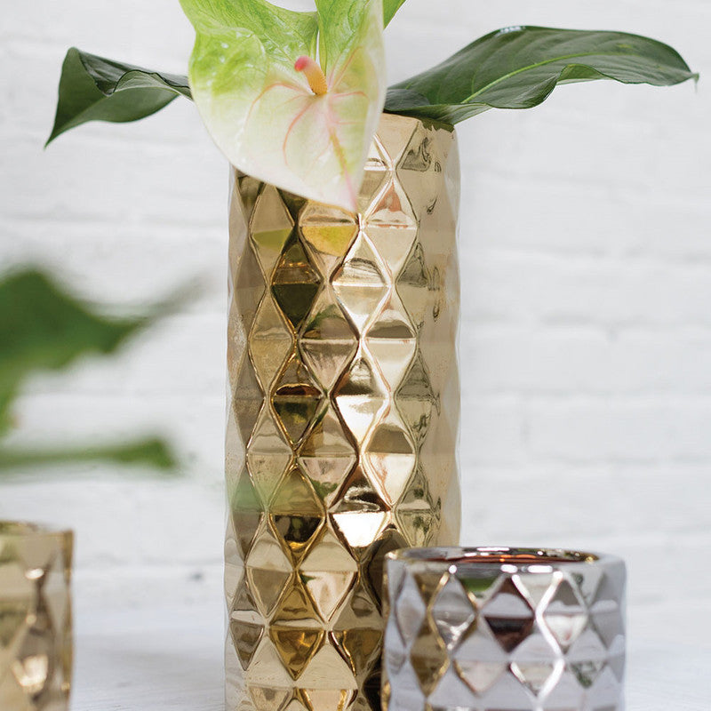 ARCHITECT VASE GOLD M