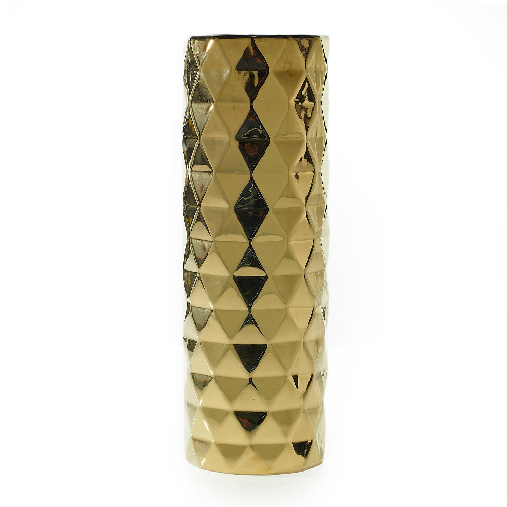 ARCHITECT VASE GOLD L