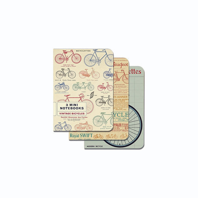 MINI LIBRETAS VINTAGE BICYCLES