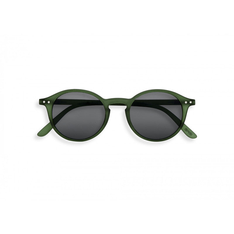 #D GREEN CRYSTAL, GREY LENSES