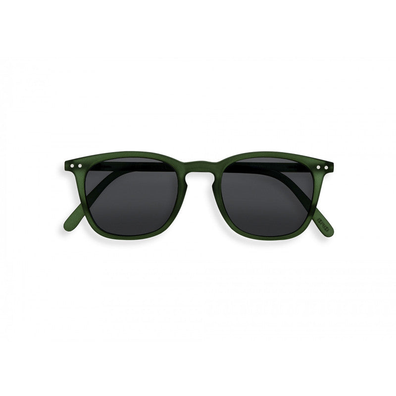 #E GREEN CRYSTAL, GREY LENSES