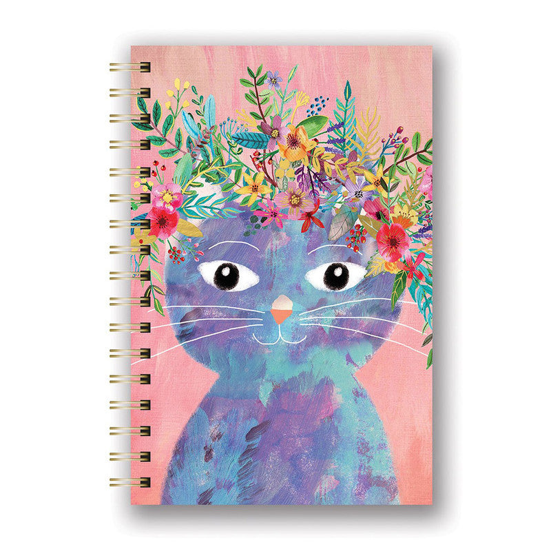 CUADERNO CON ESPIRAL M FANCY CAT