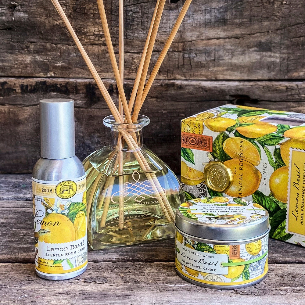 PACK AROMAS LEMON BASIL