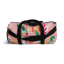 Load image into Gallery viewer, Pink Fauna Duffel Bag