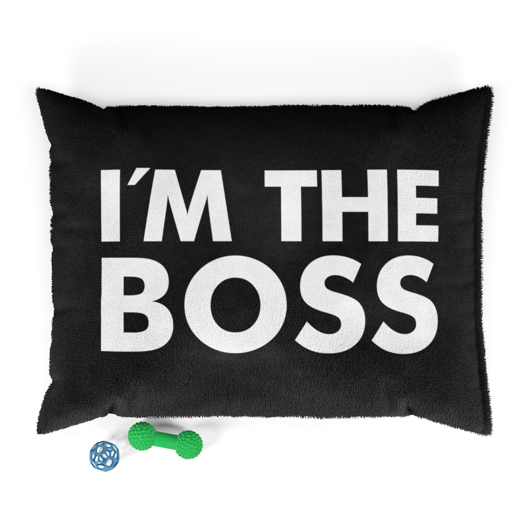 I'm the Boss Pet Bed