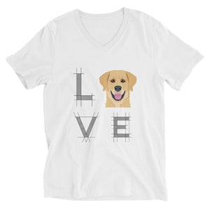 Love Golden Unisex Short V
