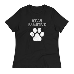 Stay Pawsitive Relaxed T-Shirt