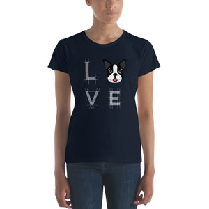 Love Frenchi Women's short sleeve t-shirt