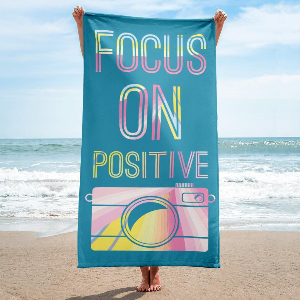Fotografie thema badlaken: focus on positive
