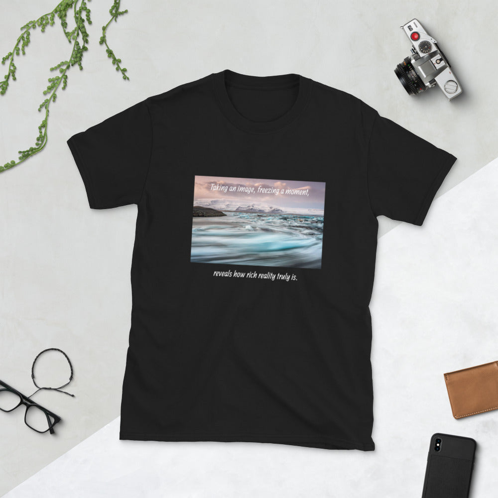 Taking an image - T-shirt met korte mouwen, unisex