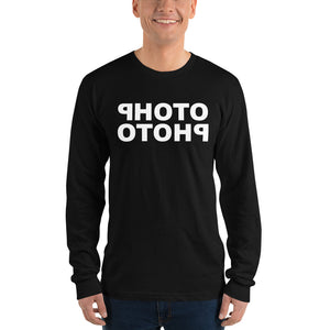 Photo Photo - T-shirt met lange mouwen, heren