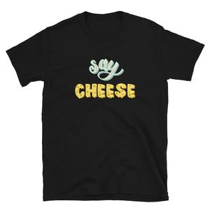 Say Cheese -  T-shirt met korte mouwen, unisex