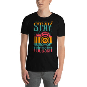 Stay Focused - T-shirt met korte mouwen, heren