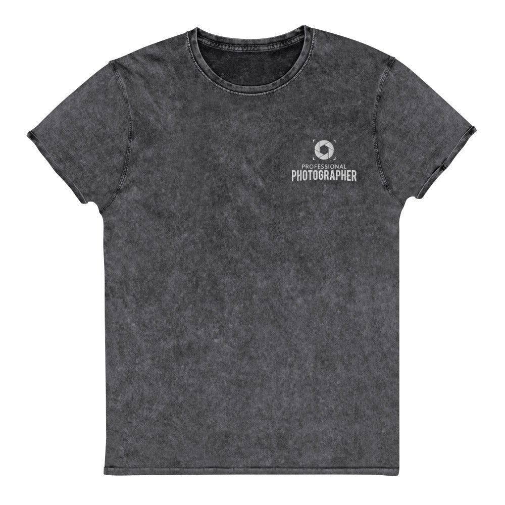 Professional Photographer - Denim T-Shirt