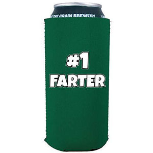 #1 Farter 16 oz Can Coolie