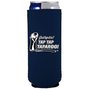 Just Tap It In! Tap Tap Taparoo! Golf Slim 12 oz Can Coolie