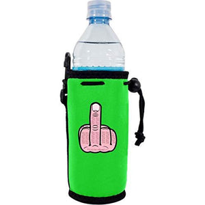 Middle Finger Water Bottle Coolie