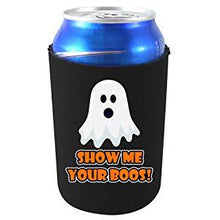 Load image into Gallery viewer, can koozie with show me your boos design