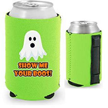 Load image into Gallery viewer, Show Me Your Boos! Halloween Magnetic Can Coolie