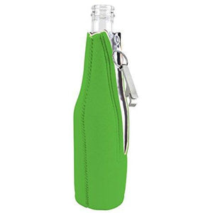 Just Tap It In! Tap Tap Taparoo! Beer Bottle Coolie With Opener