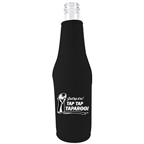 Just Tap It In! Tap Tap Taparoo! Golf Beer Bottle Coolie