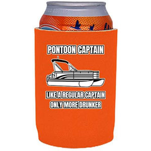 Pontoon Captain Full Bottom Can Coolie