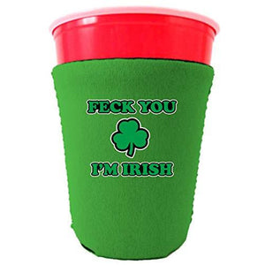 Feck You I'm Irish Party Cup Coolie