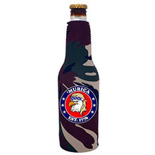 Load image into Gallery viewer, Murica 1776 Beer Bottle Coolie