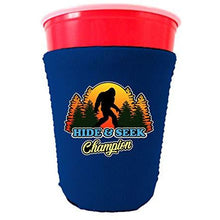 Load image into Gallery viewer, Bigfoot Hide & Seek Champion Party Cup Coolie