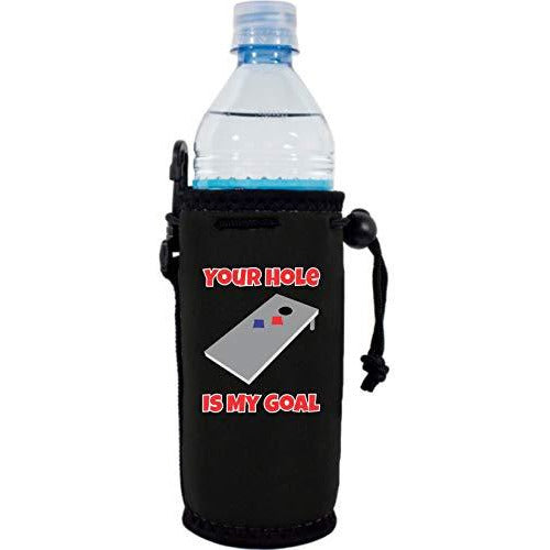 Your Hole Is My Goal Water Bottle Coolie