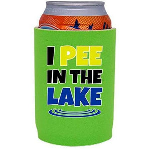 I Pee In The Lake Full Bottom Can Coolie