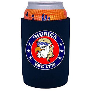 Murica 1776 Full Bottom Can Coolie