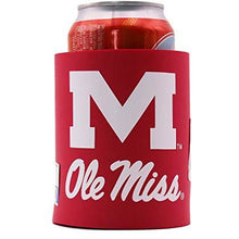 "Load image into Gallery viewer, NCAA Thick Foam""Old School"" Grip-It Can Coolie"