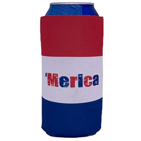 16oz can koozie with
