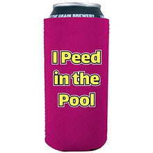 Load image into Gallery viewer, I Peed in the Pool 16 oz. Can Coolie