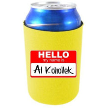 Load image into Gallery viewer, Hello My Name is Al Kohollek Can Coolie