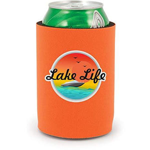 Lake Life Full Bottom Can Coolie