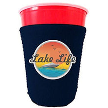 Load image into Gallery viewer, Lake Life Party Cup Coolie
