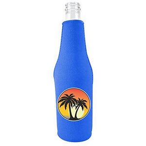 Palm Tree Sunset Bottle Coolie