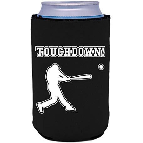 can koozie with touchdown design