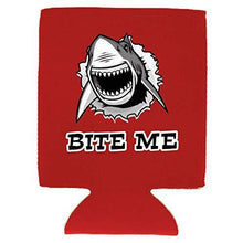 Load image into Gallery viewer, Bite Me Shark Magnetic Can Coolie