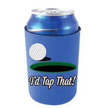 Load image into Gallery viewer, I'd Tap That Golf Can Coolie