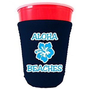 Aloha Beaches Party Cup Coolie