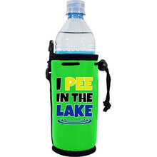 Load image into Gallery viewer, I Pee In The Lake Water Bottle Coolie