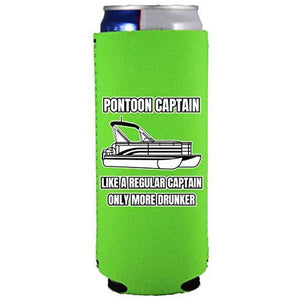 Pontoon Captain Slim Can Coolie