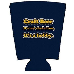 Craft Beer Alcoholism Pint Glass Coolie