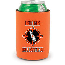 Load image into Gallery viewer, Beer Hunter Full Bottom Can Coolie