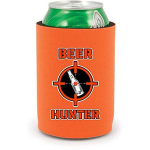 Beer Hunter Full Bottom Can Coolie