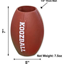 Load image into Gallery viewer, Koozball Throwable Football Can Cooler